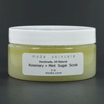 Rosemary and Mint Sugar Scrub - Moda